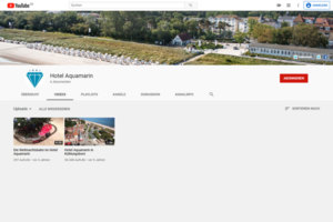 "YouTube Kanal ""Hotel Aquamarin"""