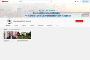 "YouTube Kanal ""KOE Rostock"""